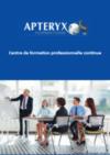 catalogue formations Aptéryx 2021